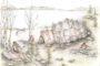 Chata z Miłuk rekonstrukcja