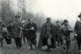 Polowanie w Haźlachu. Pierwszy z prawej idzie gen. Kordian Zamorski, obok niego marszałek Edward Śmigły-Rydz