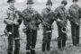 Łowy z sokołami w Lesznie. Młodzi adepci sztuki polowania z sokołem. W tamtych czasie sokół wędrowny, czy białozor były rzadkością. Młodzi sokolnicy polowali głównie z jastrzębiami.