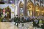 Pielgrzymi z kilkunastu krajów świata byli pod ogromnym wrażeniem rozbrzmiewającej w katedrze warszawsko-praskiej muzyki w wykonaniu zespołu Trompes de Pologne